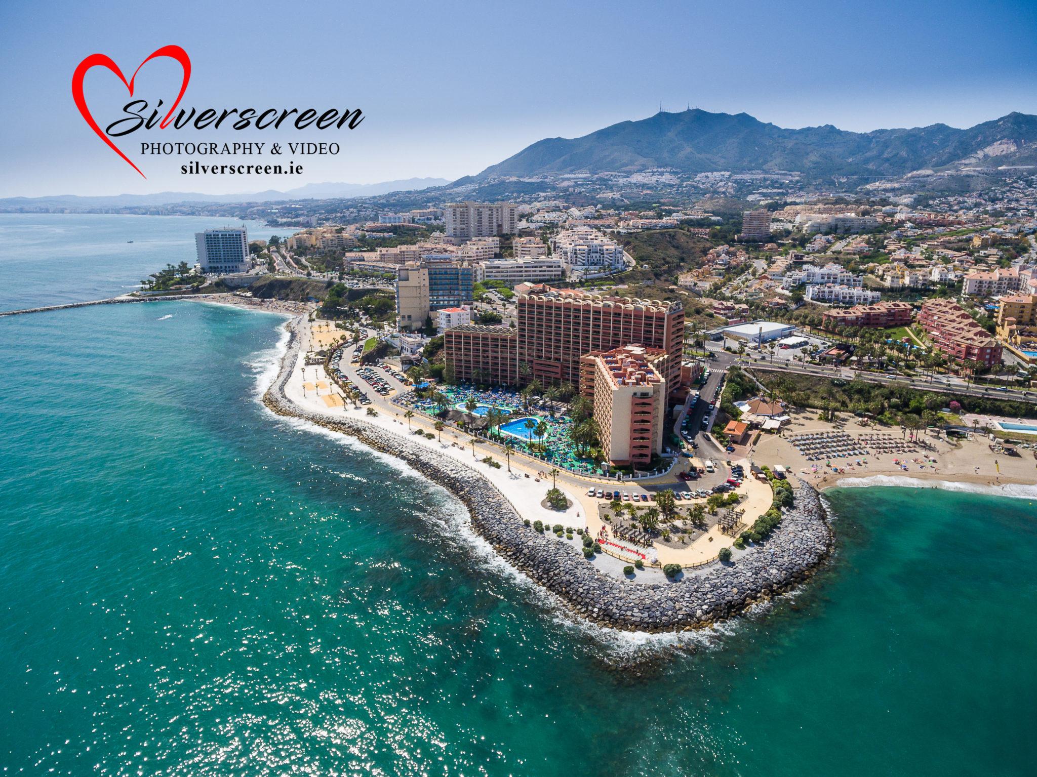 Sunset Beach Club Aerial Photography