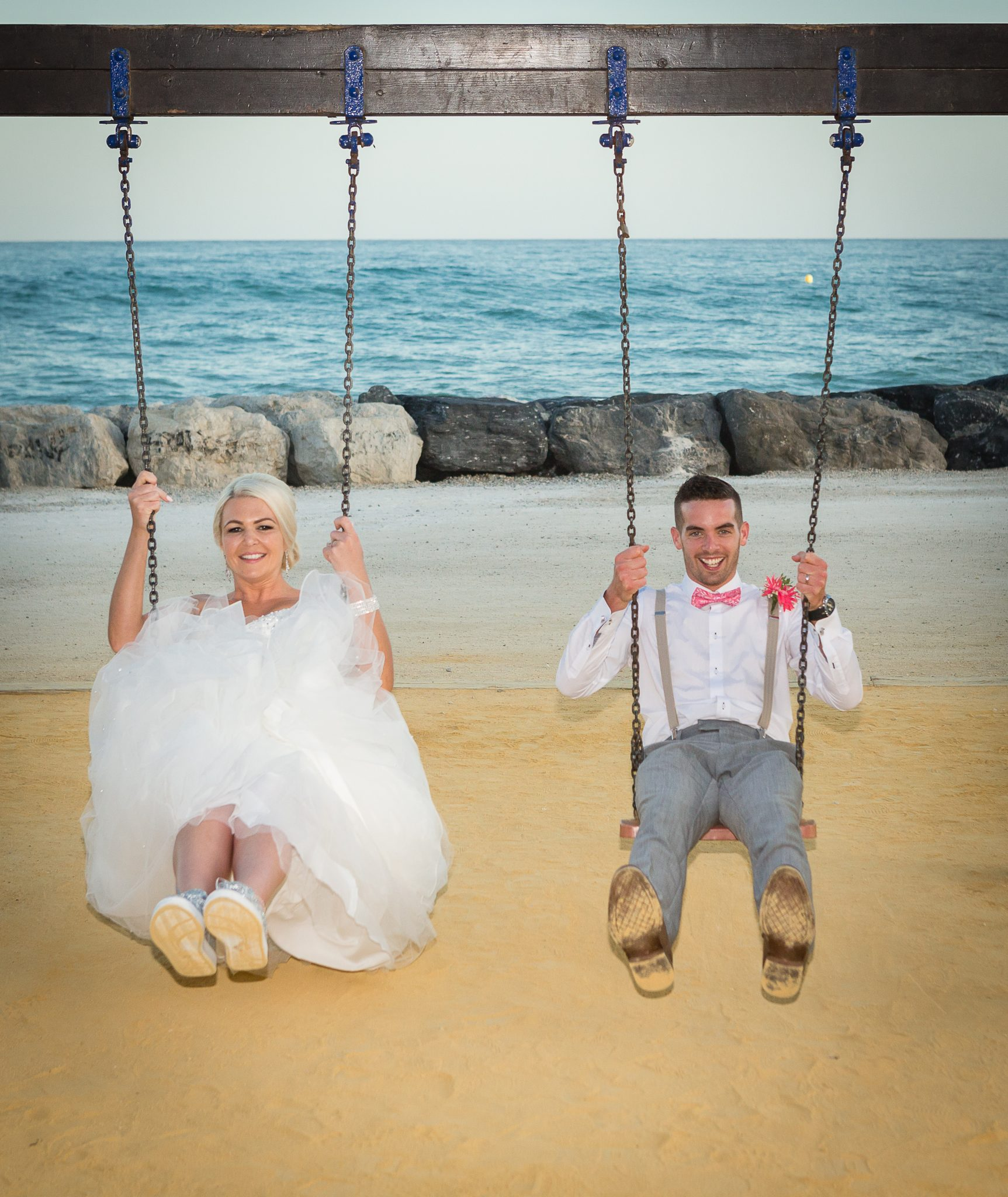Sunset Beach Club Wedding Photographer Video Spain