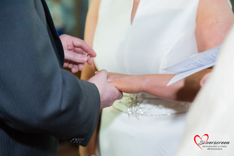 Wedding Ring Roganstown Hotel & Country Club Dublin Wedding by Silverscreen Photography & Video