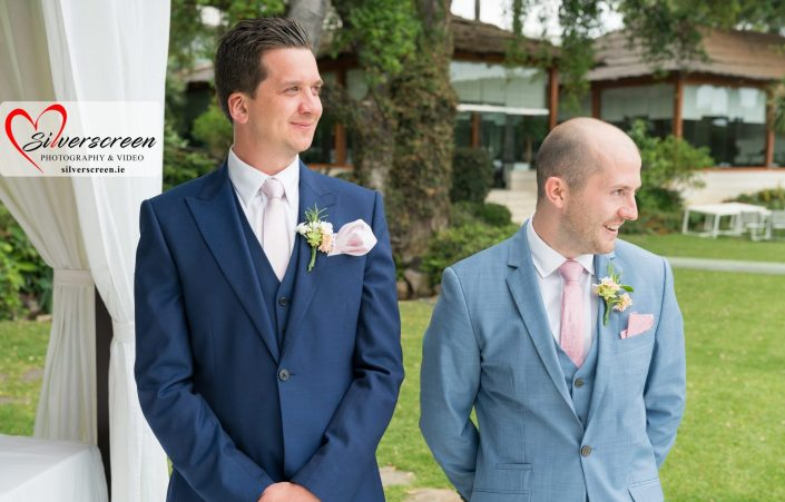 Groom and best man suit
