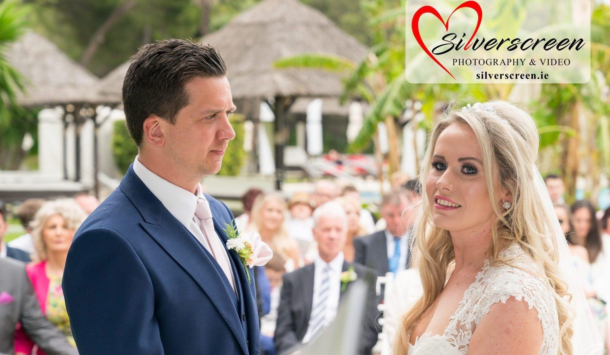 Gran Melia Don Pepe Hotel - Bride & Groom Wedding Ceremony