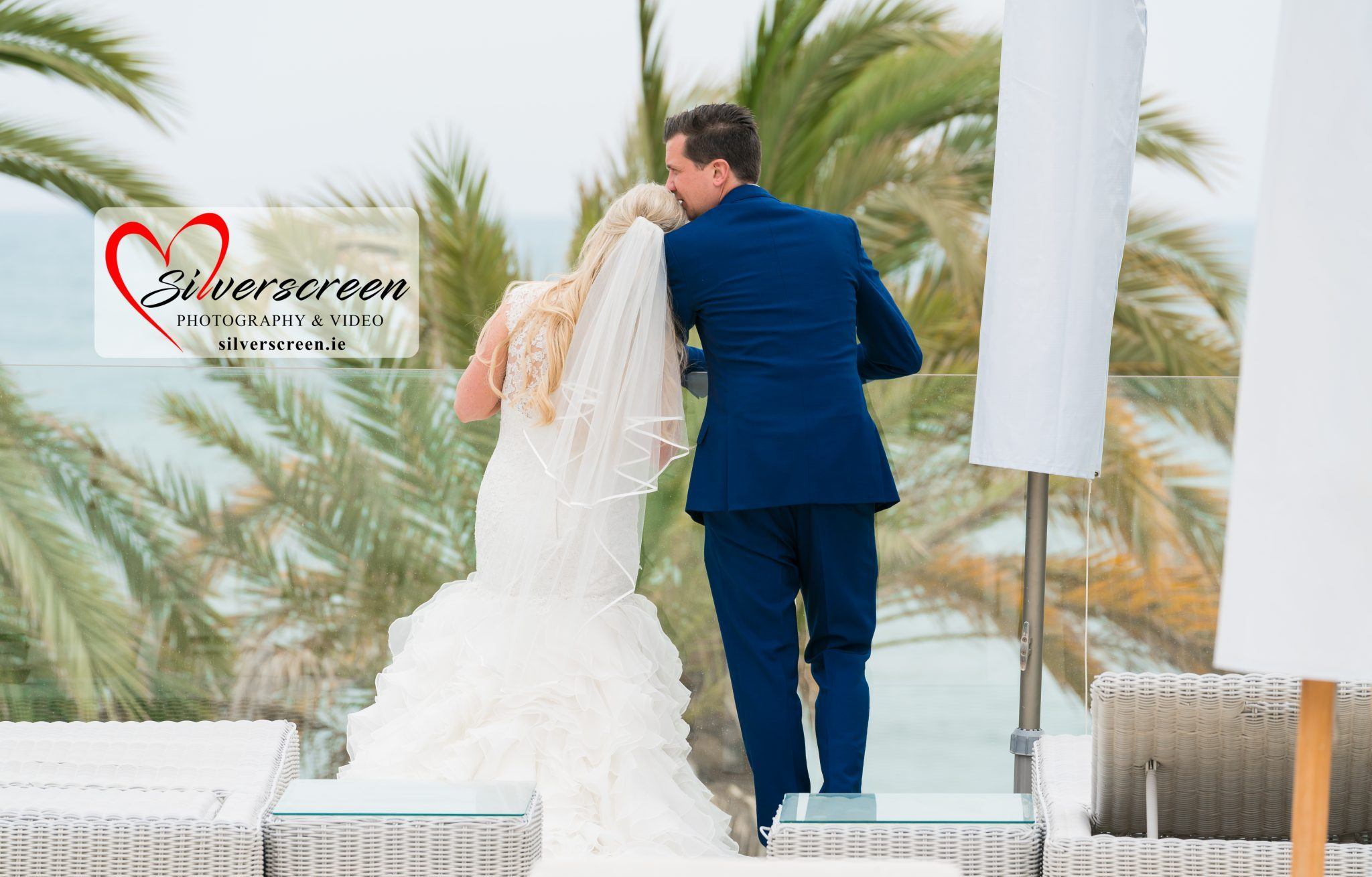 Bride and Groom - Gran Melia Don Pepe Beach Wedding