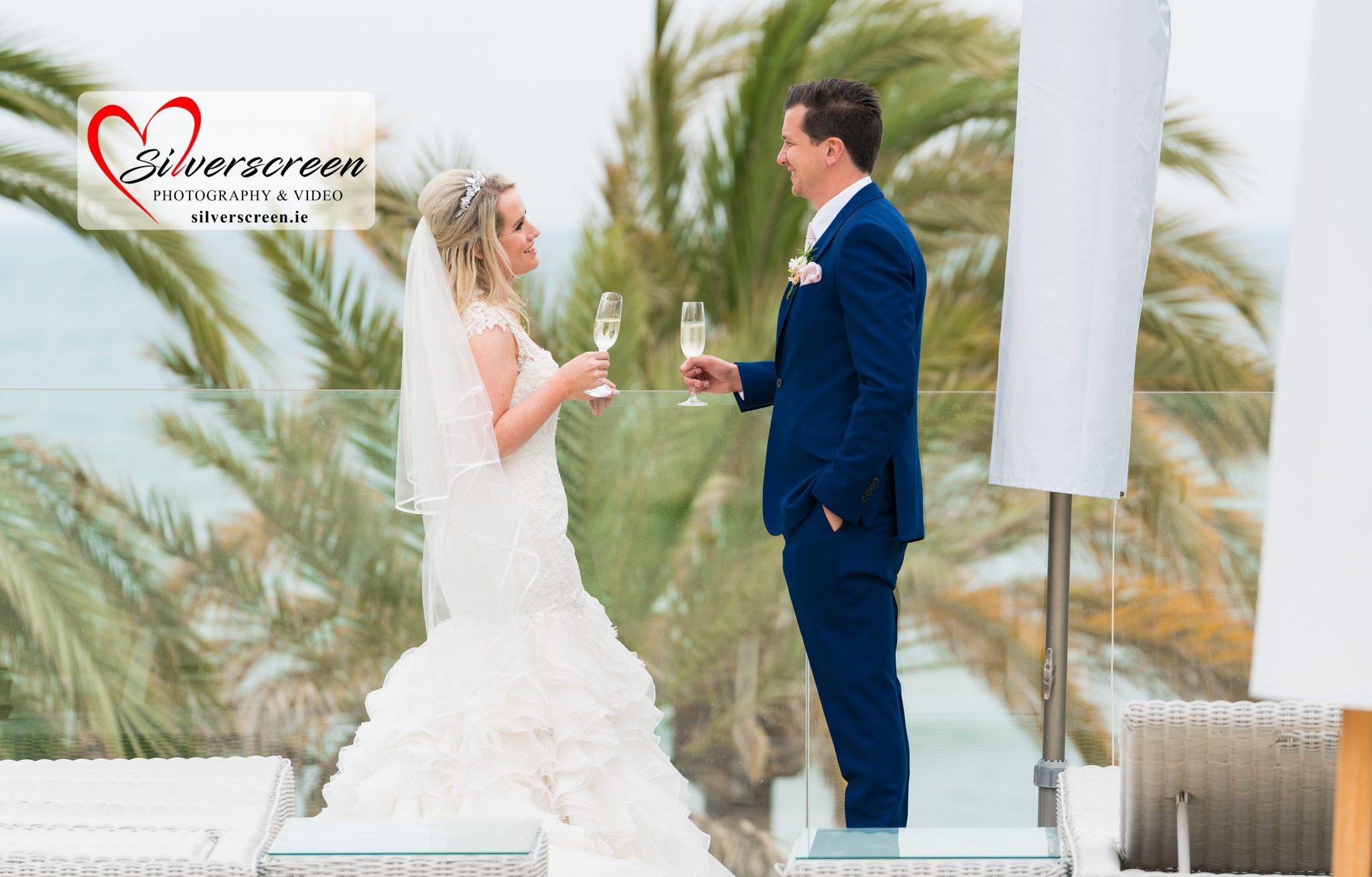 Bride and Groom - Gran Melia Don Pepe Cheers