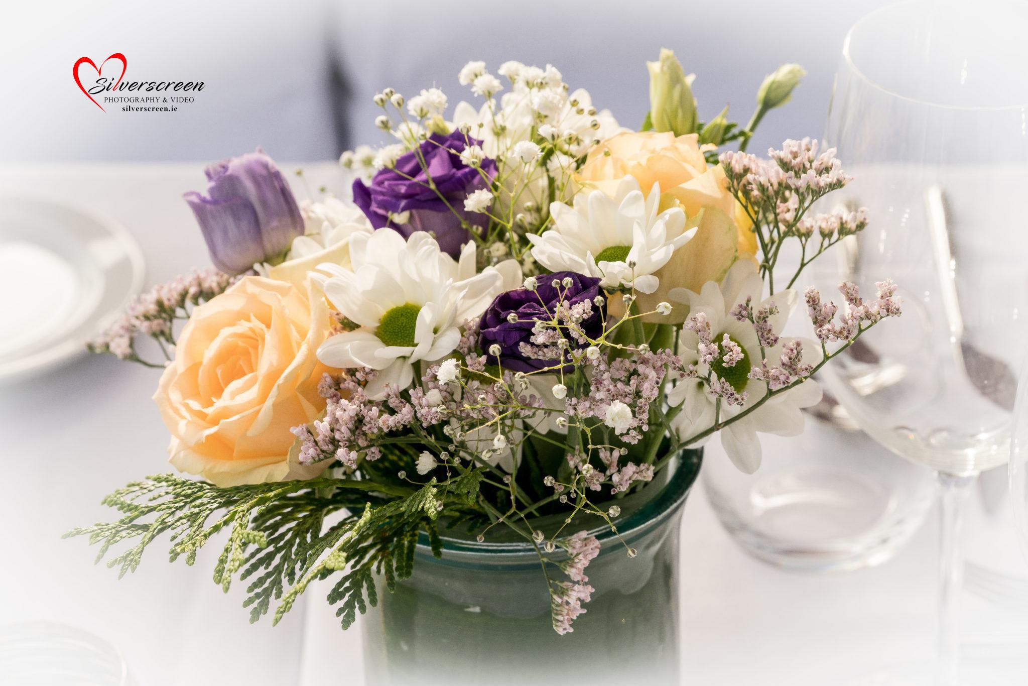 Wedding Party Flowers – Marbella Beach Club - Wedding Decor
