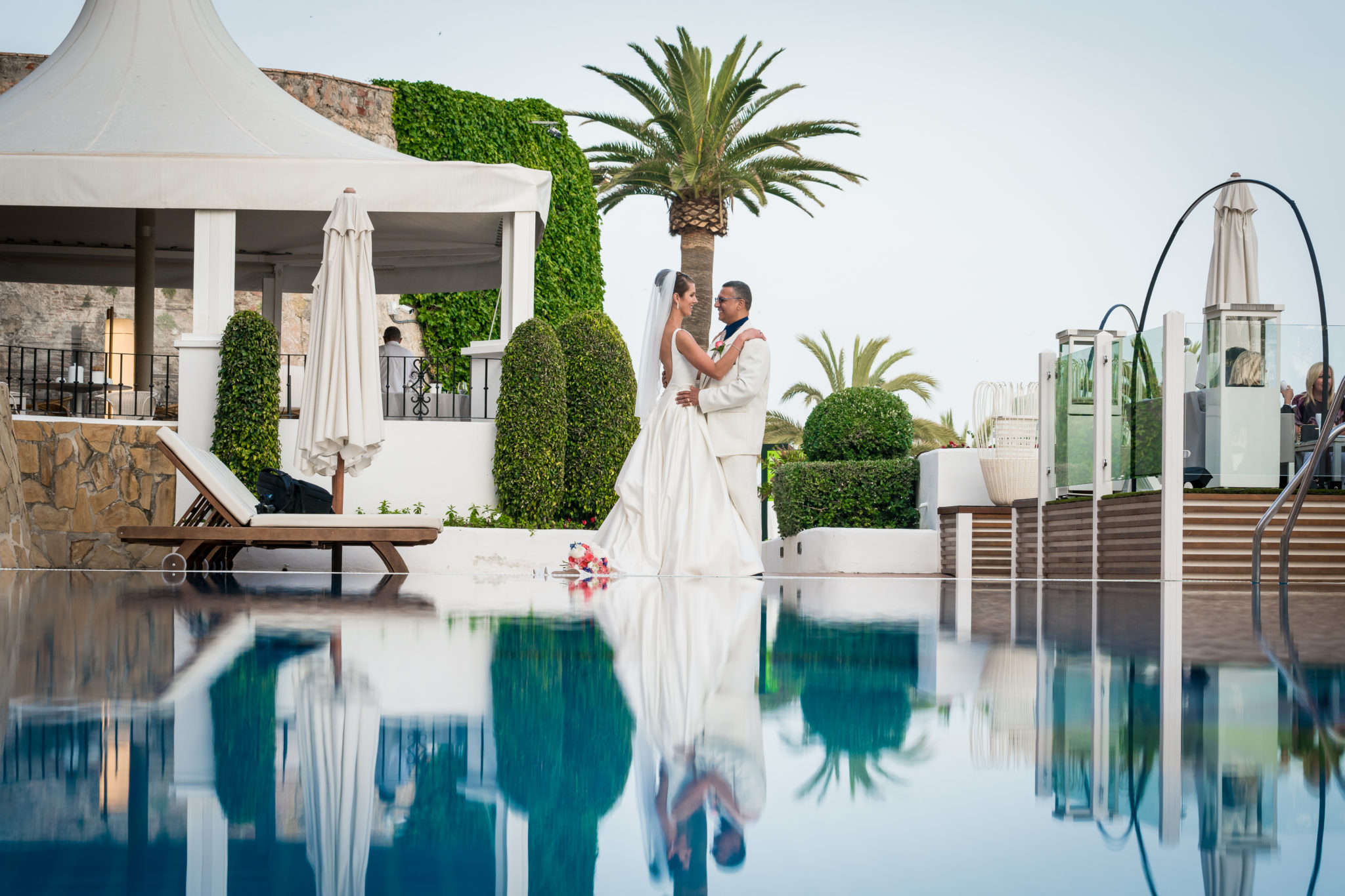 Fuerte Marbella Beach Club Wedding Photographer & Videographer Spain